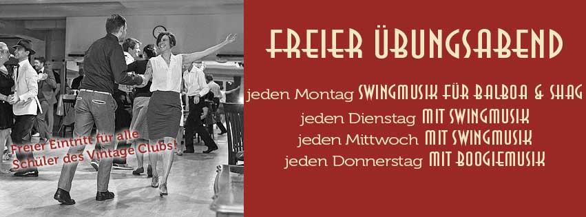 Vintage Club Swing Tanzen In München