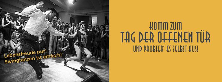 Tag der offenen Tür im Vintage Club - Swing Tanzen lernen!
