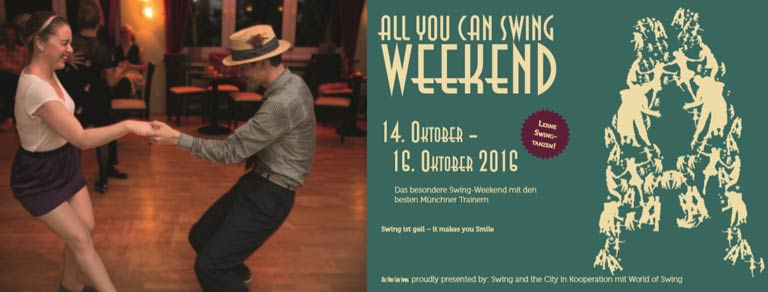 All You Can Swing Weekend (14.-16. Oktober)