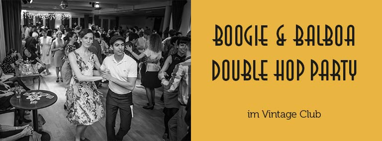 Boogie & Balboa Double Hop Party